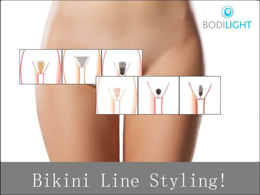 Bikini line hair removal options